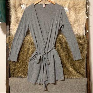 Victoria's Secret Grey Sleepover Knit Robe